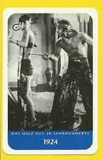 Anna May Wong Douglas Fairbanks Thief of Bagdad Cool Collector Card from Europe
