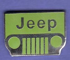 JEEP GRILLE AUTO HAT PIN LAPEL PIN TIE TAC ENAMEL BADGE #1201