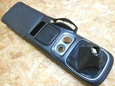 98 02 JDM HONDA S2000 AP1 CENTER CONSOLE WITH MANUEL LEATHER GEAR KNOB COVER OEM