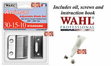Wahl 30-15-10 REPLACEMENT BLADE SET For Stable/Show/Kennel Pro,U Clip Clippers