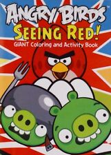 Coloring Book Activity Book Angry Birds Seeing Red! Giant For Kids Angry Birds