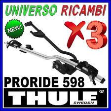 3 Portabici da tetto  - Thule ProRide 598 ALLUMINIO
