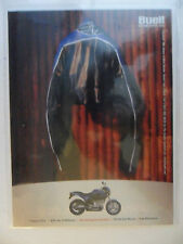 2000 Print Ad BUELL Torquey V-Twin Motorcycle LEATHER JACKET