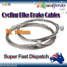 2x MTB Brake Cable with End Crimp Bicycle Cycling BMX Mountain Bike for Shimano