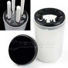 Neu Nail Art Pinselhalter Pinselbecher Pinselreiniger Box Pinsel Reiniger Becher