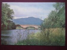 POSTCARD STIRLINGSHIRE THE CALLENDER BRIDGE & TEITH - KNOWN AS TANNOCHBRAE BRIDG