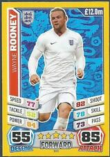 TOPPS MATCH ATTAX  BRAZIL 2014 WORLD CUP- #103-ENGLAND-WAYNE ROONEY