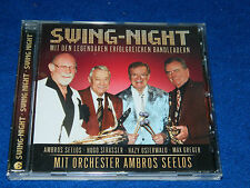 CD SWING NIGHT hugo STRASSER ambros SEELOS max GREGER hazy OSTERWALD koch