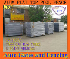 Approved with NATA Certificate Aluminium Pool /Garden Fence Panel -  Primrose