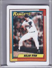 1993 HAMILTON COLLECTION NOLAN RYAN PORCELAIN 1990 TOPPS STYLE RANGER HOF G1690