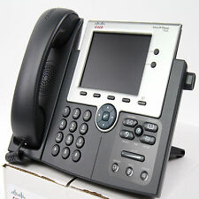 Cisco CP-7945G 7945 SCCP VoIP IP Telephone Phone PoE - Quality Refurbished