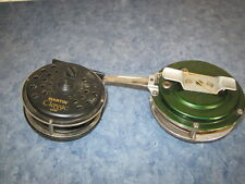 2 VINTAGE FLY FISHING REELS, MARTIN CLASSIC MC56 AND J.C. HIGGINS