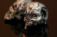Terminator 1/6 Scale Custom Made Hand Painted T-800 Battle Damaged Skull