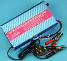 FULLY AUTOMATIC 4 STAGE MARINE BATTERY CHARGER 12V 30A
