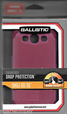 BALLISTIC Pink  SG0930-M065 Shell Gel Case for Samsung Galaxy S3 NIB