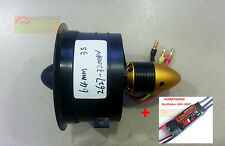 Combo 64mm 12 Blade 3S Fan Duct 2627 Motor Brushless 3200KV & SkyWalker 50A UBEC