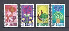 SINGAPORE 1972 178/81 USED Cat £7.50