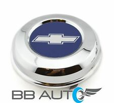 "71-72 CHEVELLE 70-81 CAMARO 15"" INCH 5-SPOKE MAG STEEL WHEEL HUB CENTER CAP NEW"