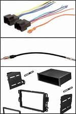 GM Single/Double Din Car Truck Stereo Radio Install Dash Mount Face Kit Combo