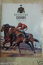 2016 KENTUCKY DERBY  PROGRAMS  W/FREE GIFT  TRUSTED SELLER