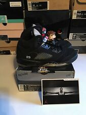 Nike Air Jordan Retro OG 2006 Black Metallic 5 3m PADS Size 7 GS Kids ICEY Soles