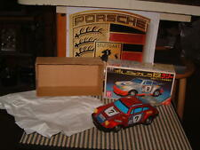 VINTAGE YONEZAWA TIN BATTERY OPERATED PORSCHE 911 RSR W/ORIGINAL BOX & WORKING!!