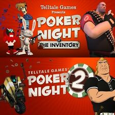 Poker Night at the Inventory + Poker Night 2 [PC & MAC] Steam CD-Key Digital