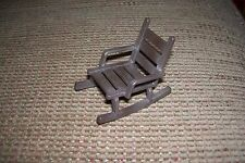 Playmobil Brown Rocking Chair Furniture Replacement Part Piece