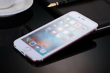Ultra-Thin Aluminum Metal Bumper Clear Back Case Cover Skin for iPhone 6 6s Plus