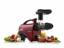 Omega NC800HDR Factory Certified Remanufactured Nutrition Center Juicer - RED