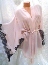 "STUNNING $118 Victoria Secret ANGELS ""LONDON"" EXCLUSIVE Kimono Robe NWT OS"