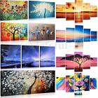 Large Night Beach & Sunset Canvas Print Wall Art Painting Picture Unframed Decor