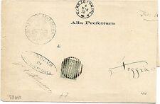 P7159   Foggia, serracapriola, annullo numerale a sbarre 1878