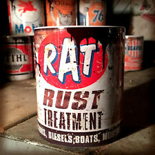 Rat rust treatment oil can Gift Motorcycle Car Mechanic Gift 11oz Tea coffee mug