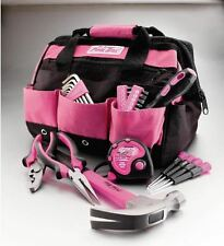 Lady Tool Kit Ladies Home DIY Pink Sets For Women With Bag 30 Piece Repair Gift