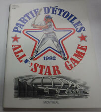 Partie D'Etoiles All Star Game Magazine Montreal 1982 081815R