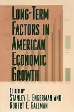 National Bureau of Economic Research Studies in Income and Wealth: Long-Term...