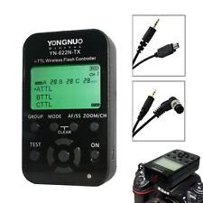Yongnuo YN-622N-TX LCD Wireless i-TTL Flash Controller Trigger for Nikon Camera