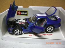 1/18 Bburago 1996 viper gts coupe in blue