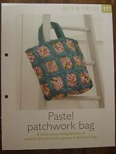 Pastel Patchwork Bag Pattern The Art of Crochet Magazine