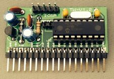 Microchip PIC16F628A Project board PCB READY BUILT