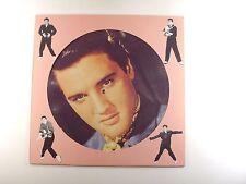 elvis presley lp hot dog     danish import   picture disc  vg+/vg+