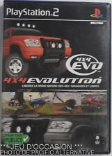 COMPLET Jeu 4X4 EVOLUTION playstation 2 sony PS2 francais rally cross voiture