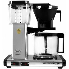 Technivorm Moccamaster KB 741 Polished Silver Coffee Maker 59616 - BRAND NEW!