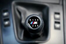 BMW ///M POWER 6 SPEED GEAR SHIFT KNOB E60 E90 E92 E91 E93 M3 M5 M6 E46 X3 X5