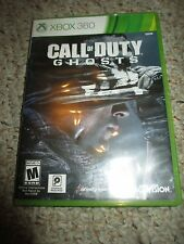 Call of Duty: Ghosts (Microsoft Xbox 360, 2013) w/ Case