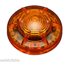 """10EA PF24LM AMBER PORTABLE 24 LED's POWER FLARE """"POWER-MARKERS"""" W/ MAGNETIC BASE"""