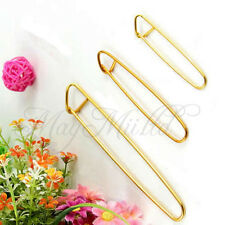 3 pcs Aluminum Knit Knitting Needles Stitch Holders Size S M L Crochet Hooks MM