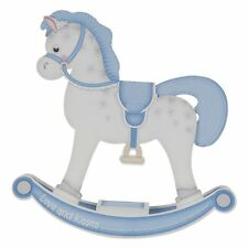 Large Square '1st Birthday for Son/Kids' Rocking Horse Keepsake Pop Up Card