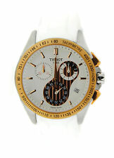 Tissot Veloci-T Chronograph Two Tone Stainless Steel Watch T0244172701100